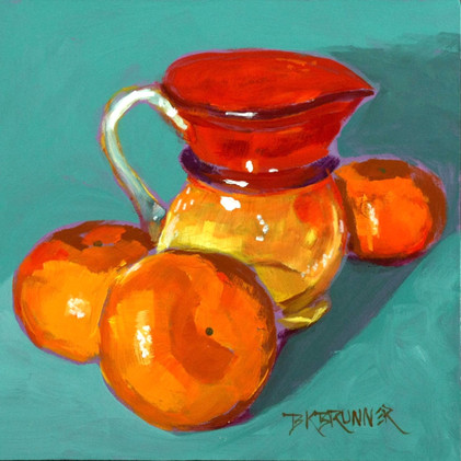 Clementines and Amberina Pitcher_1