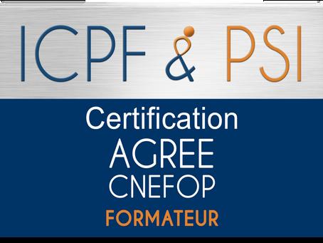 Certification ICPF & PSI