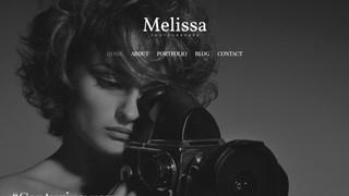 Сайт фотостудии Melissa