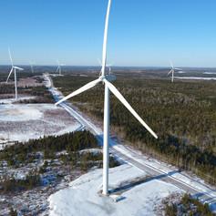 Majestic Giants - South Canoe Wind Farm, New Ross Nova Scotia