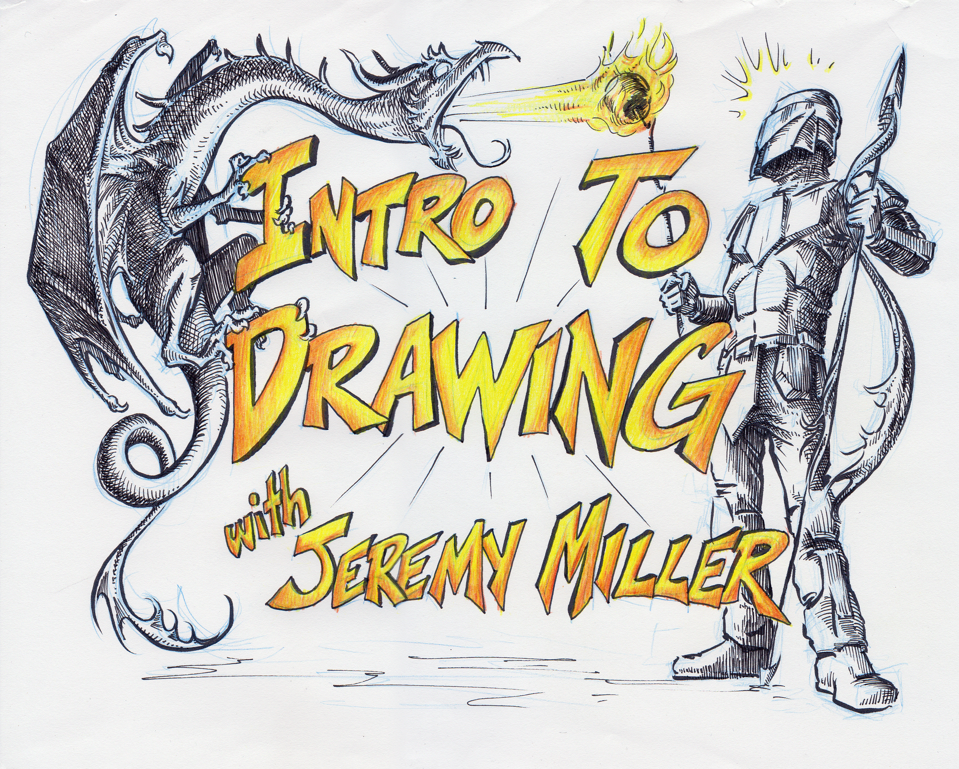 1651- Intro to Drawing A - Wed 6/2 - 7/7