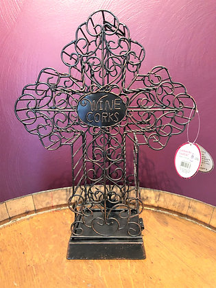 Cross Wine Cork Cage