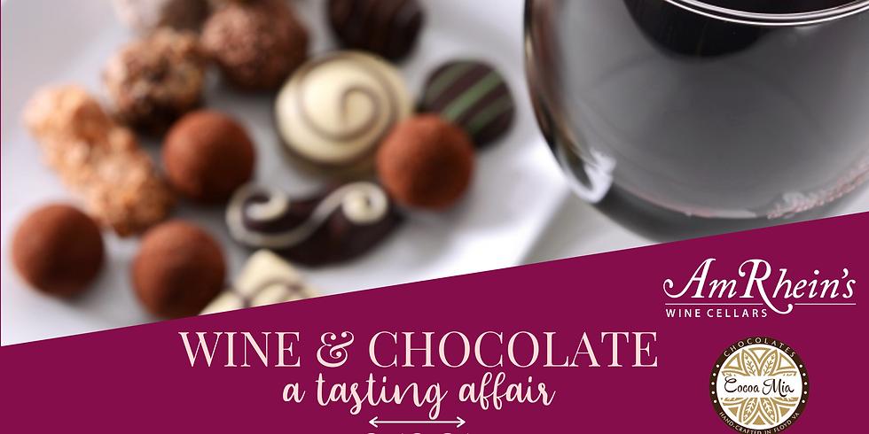 Wine & Chocolate ~ A Tasting Affair
