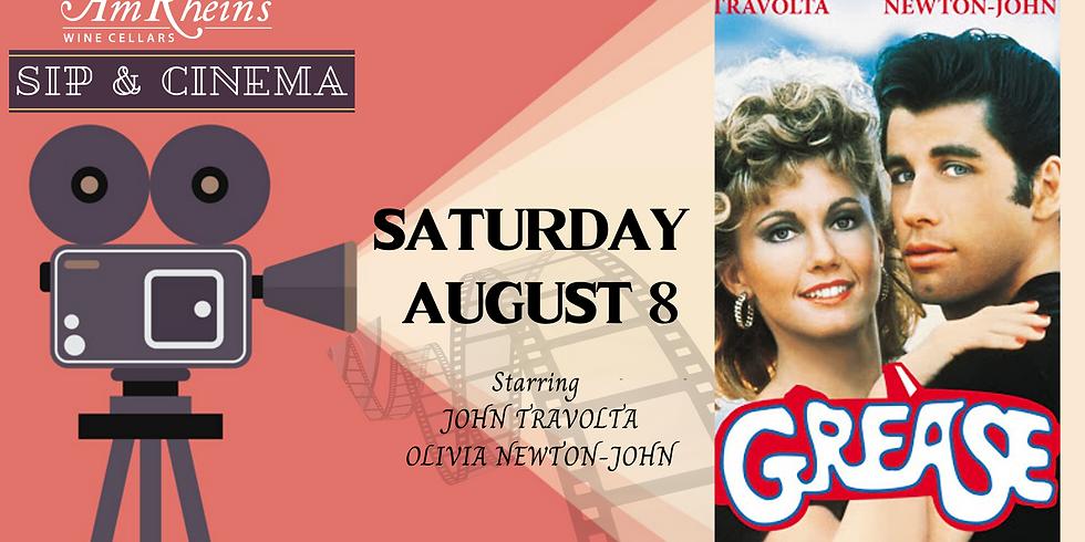 SIP & CINEMA: Grease: August 8
