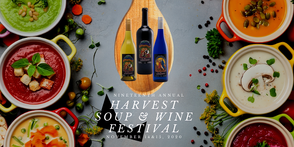 20th Annual Harvest Soup * Wine Festival