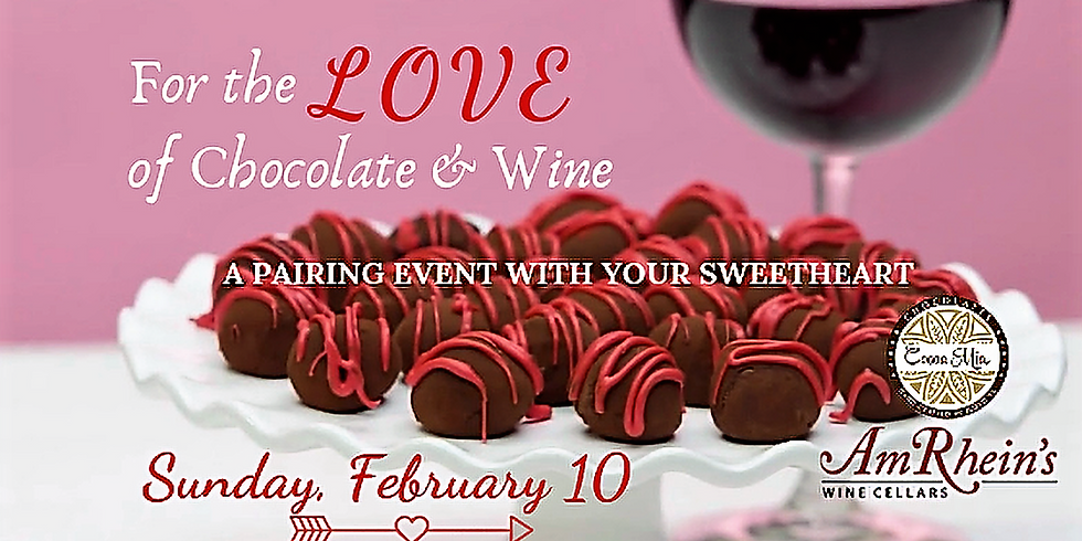 For The Love of Chocolate & Wine