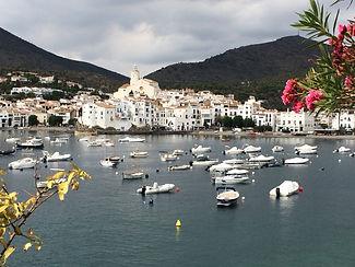 Beautiful port city Spain