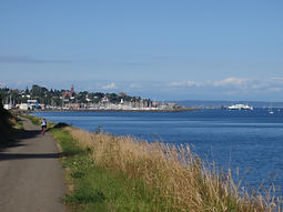 Bike path Port Townsend