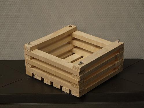 Panier en bois 21x21cm