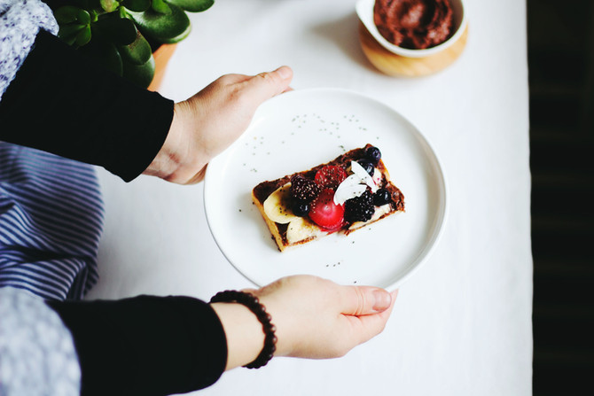 Holiday French Toast With Cranberry & Apple Sauce