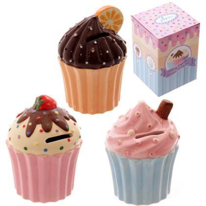 CUP CAKE Tirelire / ROKA CONCEPTS - BOUTIQUE CADEAUX INSOLITE - YVERDON-LES-BAINS