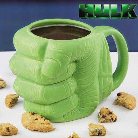 MUG POING HULK 3D / ROKA CONCEPTS - BOUTIQUE CADEAUX INSOLITE - YVERDON-LES-BAINS