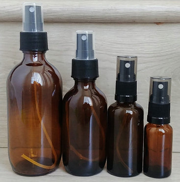Amber Glass Bottle - Spray