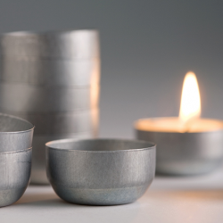 Re-Usable Beeswax Tealight Tin