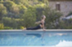 수영장 요가