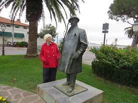 Blair and Puccini in Italy