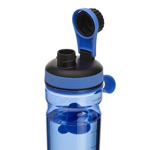Coqueteleira plástica de 600ml com misturador nexo brindes