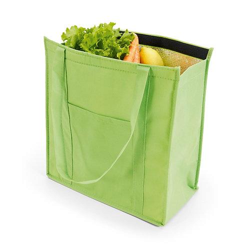 sacola térmica personalizada nexo brinde verde
