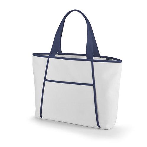 sacola termica personalizada azul
