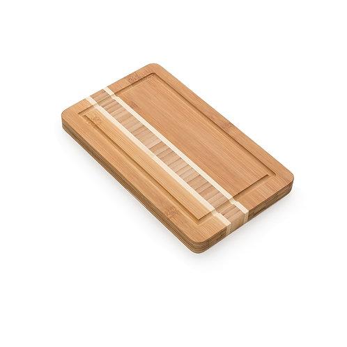 Tábua de Bambu com Canaleta Personalizada