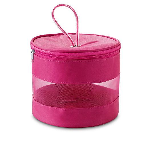 Necessaire rosa Cônica Personalizada nexo brindes