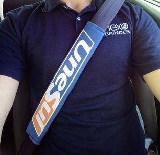 Capa de cinto de segurança personalizado