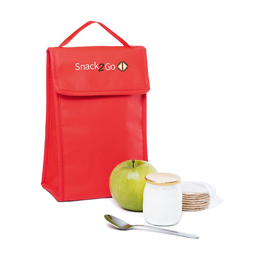 bolsa térmica personalizada dobrável vermelha nexo brindes
