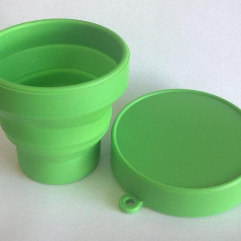 Copo Retrátil 150ml de Silicone Personalizado Copo personalizado copo retrátil Nexo Brindes Novo Hamburgo