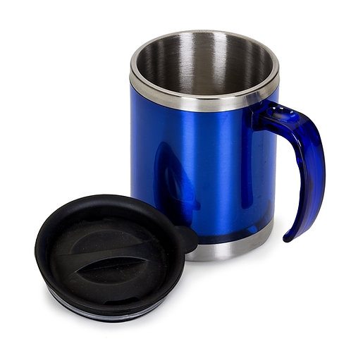 Caneca térmica acrílica 400ml Azul Personalizada nexo brindes