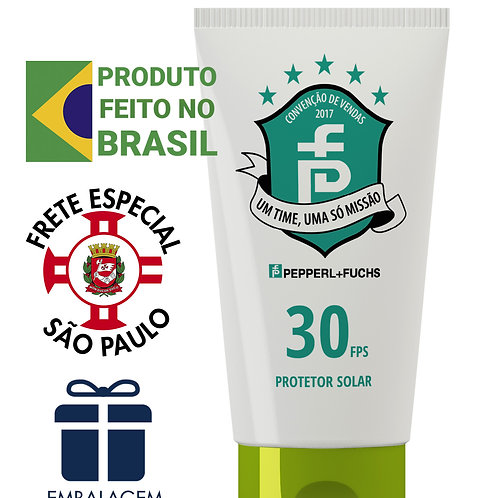 protetor solar  brinde Personalizado