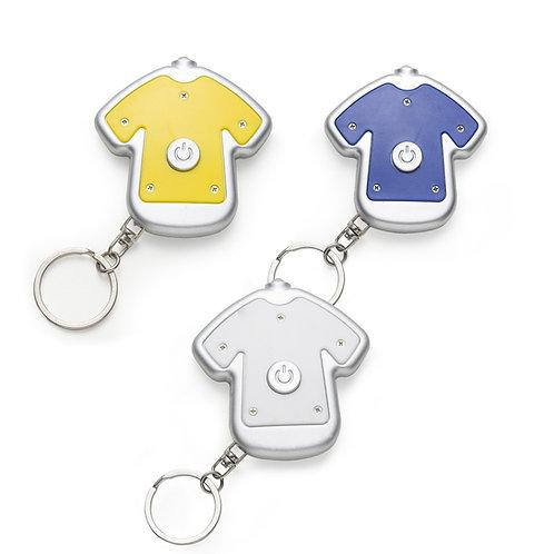 Chaveiro Personalizado Lanterna Formato Camiseta Nexo Brindes Novo Hamburgo