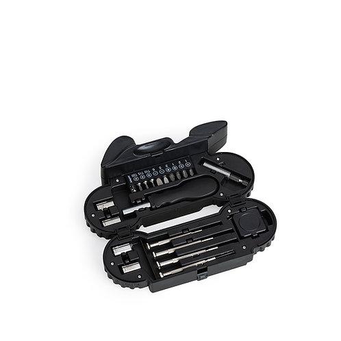 Kit Ferramenta Moto 21 Peças com Lanterna Personalizado