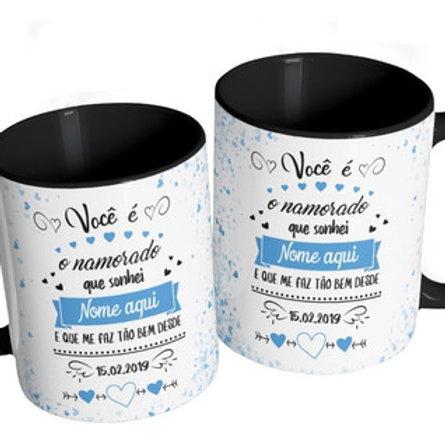 caneca personalizada dia dos namorados cerâmica porcelana novo hamburgo