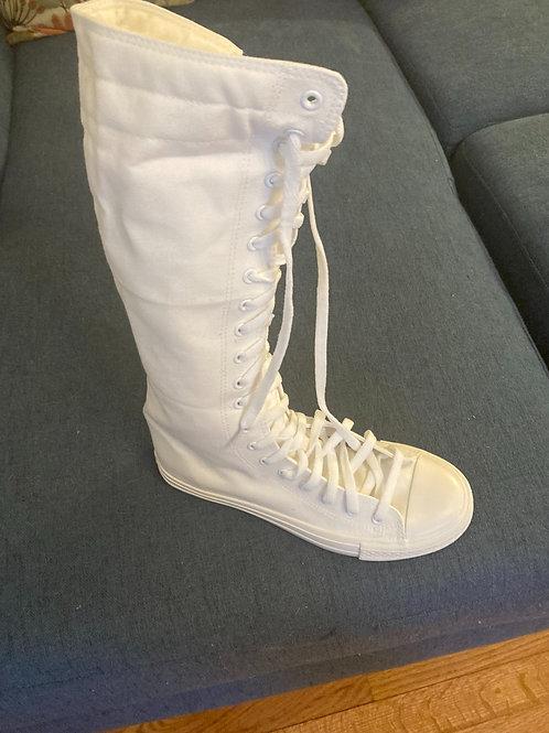 zipper sneaker boot
