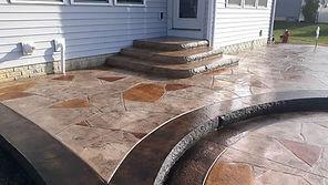 beautiful pool deck design