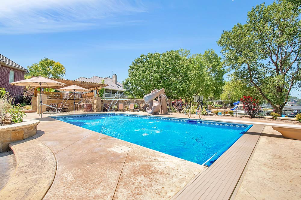 Decorative & Stamped Concrete Pool Decks