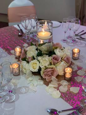 Silk Floral Centrepiece