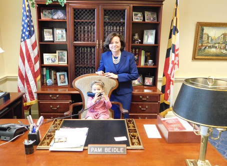News from Annapolis!
