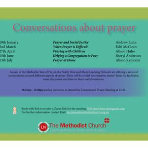 Conversations about Prayer