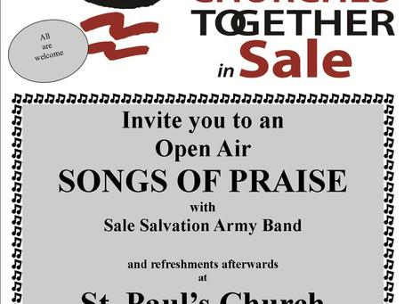 CTiS Open Air SONGS OF PRAISE