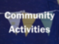 Community Activties - Bunting