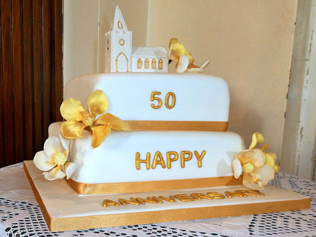 Partington Methodist Church Golden Anniversary