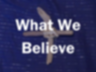 What we believe - cross