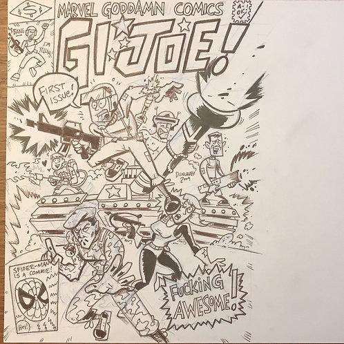 """GI Joe #1 """"Covered"""""""