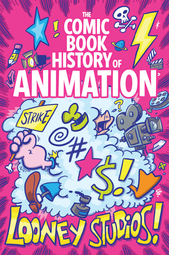 Comic Book History of Animation #2 cover