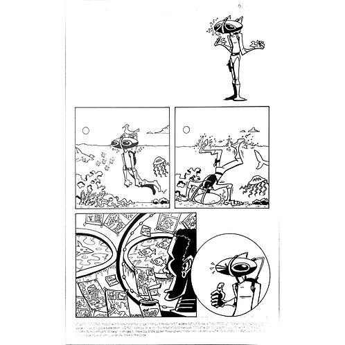 Wizard - Black Manta comic #1