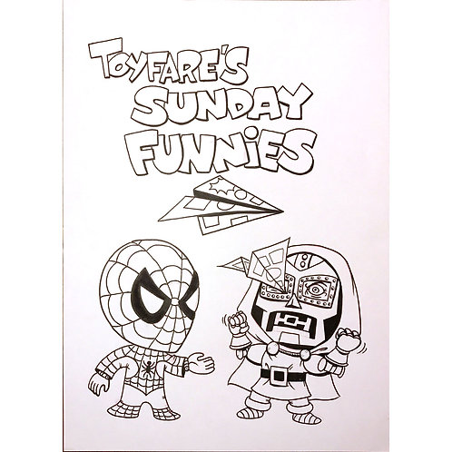 ToyFare Sunday Funnies title image