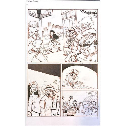 Comic Book History of Comics page 140