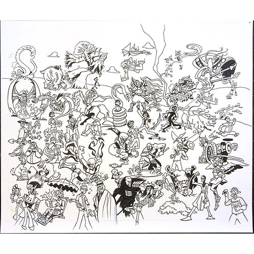 Magic the Gathering artwork