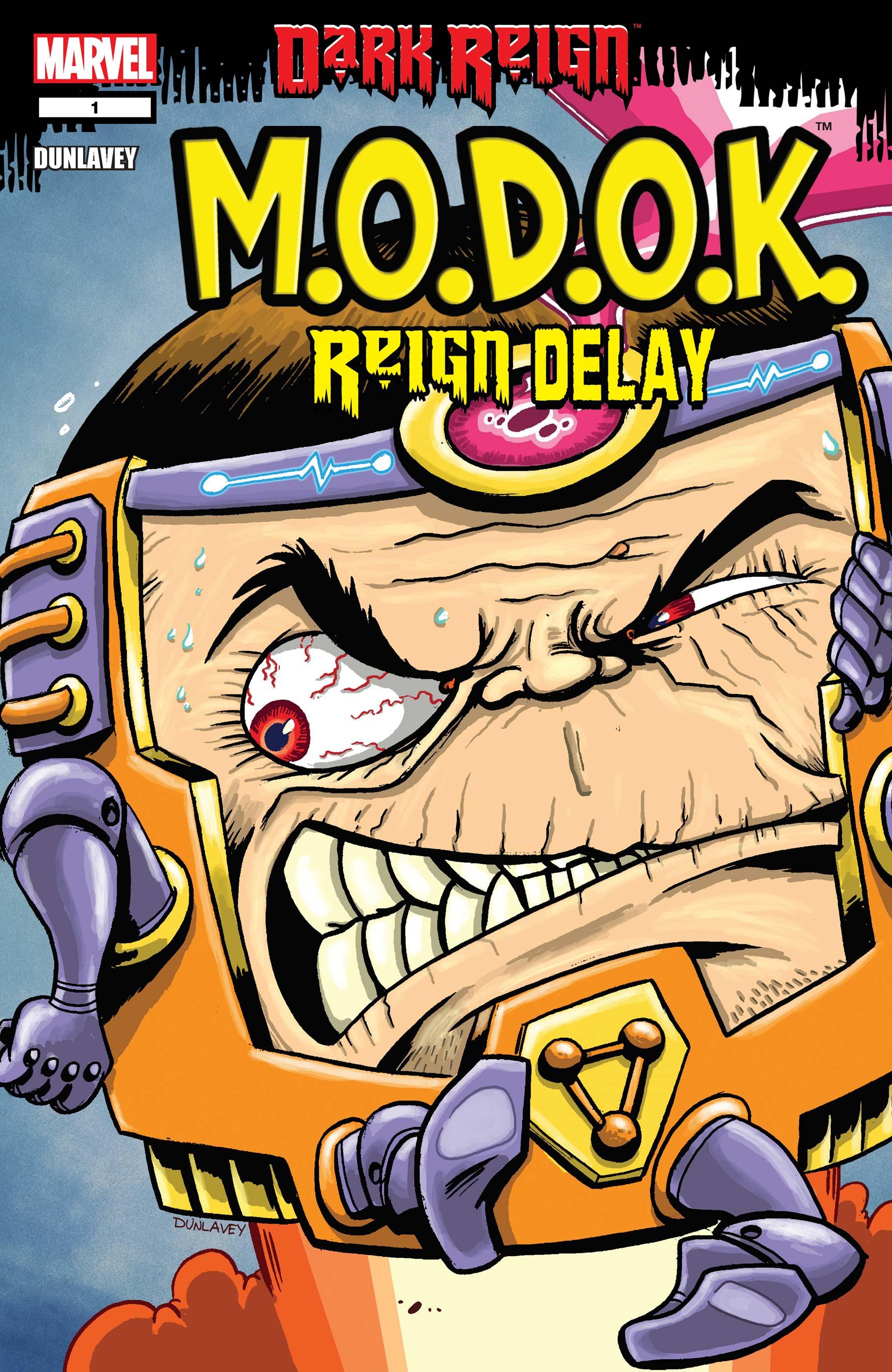 M.O.D.O.K. Reign Delay #1